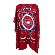 Load image into Gallery viewer, Montreal Canadiens Caftan Flower