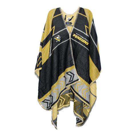 Pittsburgh Penguins Whipstitch Poncho