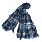 Vancouver Canucks Crinkle Scarf Plaid