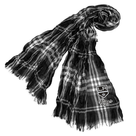 Los Angeles Kings Crinkle Scarf Plaid