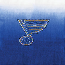 Load image into Gallery viewer, St. Louis Blues Dip Dye Poncho