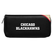 Load image into Gallery viewer, Chicago Blackhawks Curve Zip Organizer Wallet
