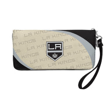Load image into Gallery viewer, Los Angeles Kings Curve Zip Organizer Wallet