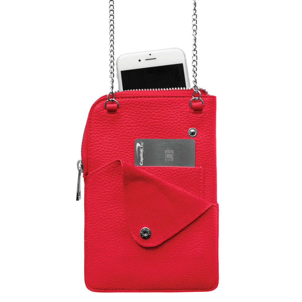 Chicago Blackhawks Pebble Smart Purse