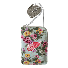 Load image into Gallery viewer, Detroit Red Wings Canvas Floral Smart Purse