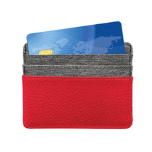 Load image into Gallery viewer, Chicago Blackhawks Pebble Front Pocket Wallet