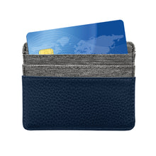 Load image into Gallery viewer, Columbus Blue Jackets Pebble Front Pocket Wallet
