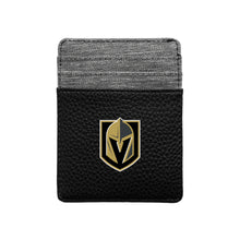 Load image into Gallery viewer, Vegas Golden Knights Pebble Front Pocket Wallet
