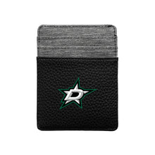 Load image into Gallery viewer, Dallas Stars Pebble Front Pocket Wallet