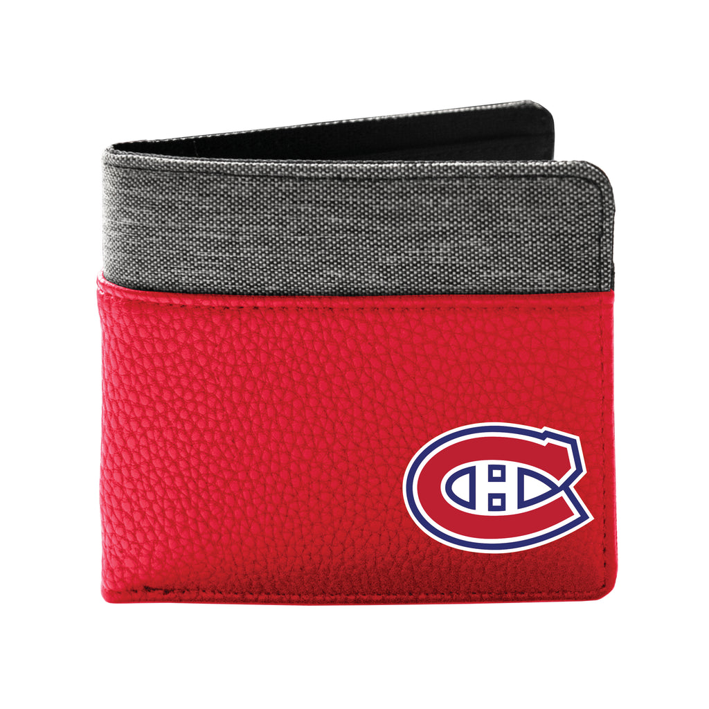 Montreal Canadiens Pebble Bi-Fold Wallet