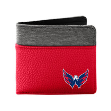 Load image into Gallery viewer, Washington Capitals Pebble Bi-Fold Wallet