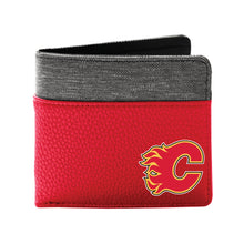 Load image into Gallery viewer, Calgary Flames Pebble Bi-Fold Wallet