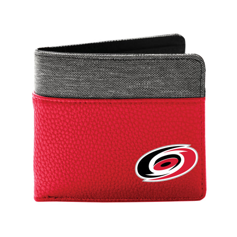 Carolina Hurricanes Pebble Bi-Fold Wallet
