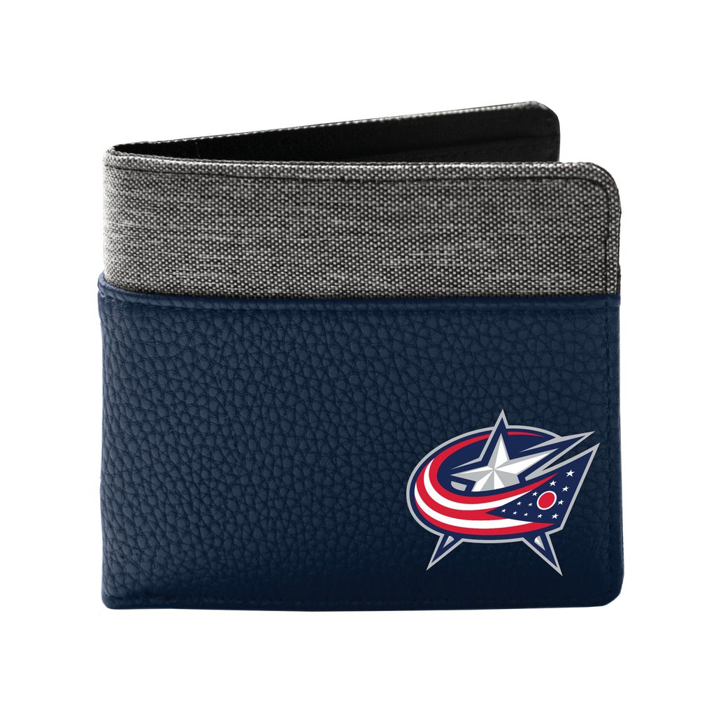 Columbus Blue Jackets Pebble Bi-Fold Wallet