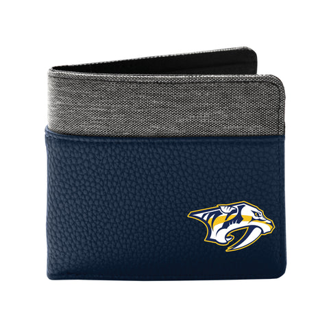 Nashville Predators Pebble Bi-Fold Wallet