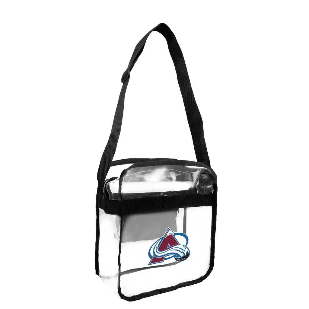 Colorado Avalanche Clear Carryall Crossbody