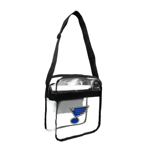 St. Louis Blues Clear Carryall Crossbody