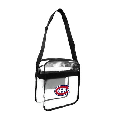 Montreal Canadiens Clear Carryall Crossbody