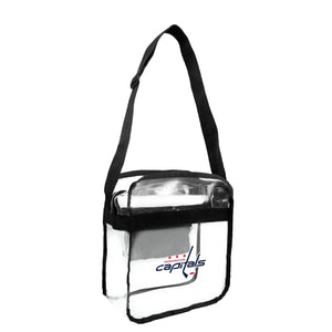 Washington Capitals Clear Carryall Crossbody