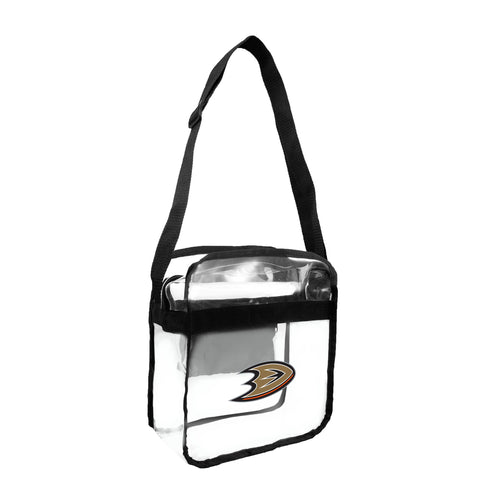Anaheim Ducks Clear Carryall Crossbody