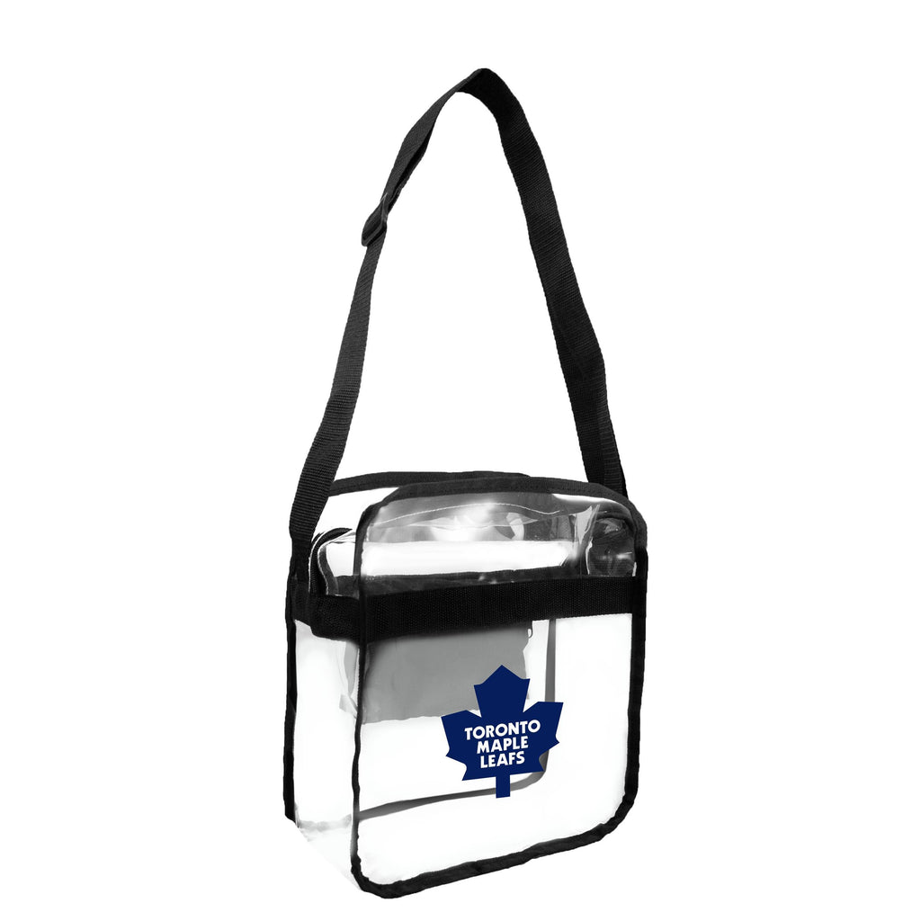 Toronto Maple Leafs Clear Carryall Crossbody