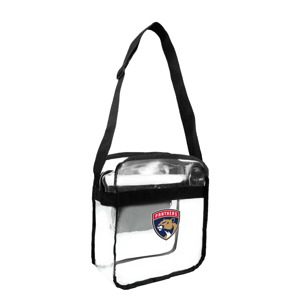 Florida Panthers Clear Carryall Crossbody