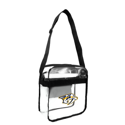 Nashville Predators Clear Carryall Crossbody