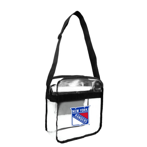 New York Rangers Clear Carryall Crossbody
