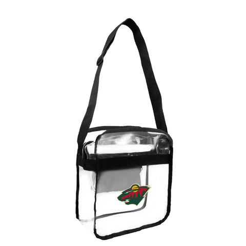 Minnesota Wild Clear Carryall Crossbody