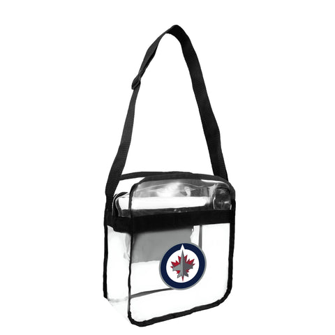 Winnipeg Jets Clear Carryall Crossbody