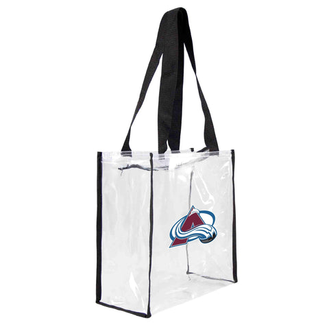 Colorado Avalanche Clear Square Stadium Tote