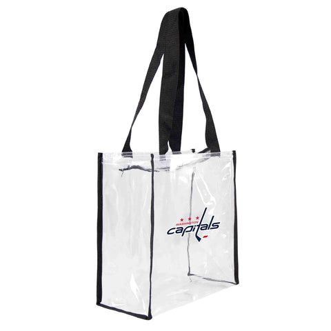 Washington Capitals Clear Square Stadium Tote