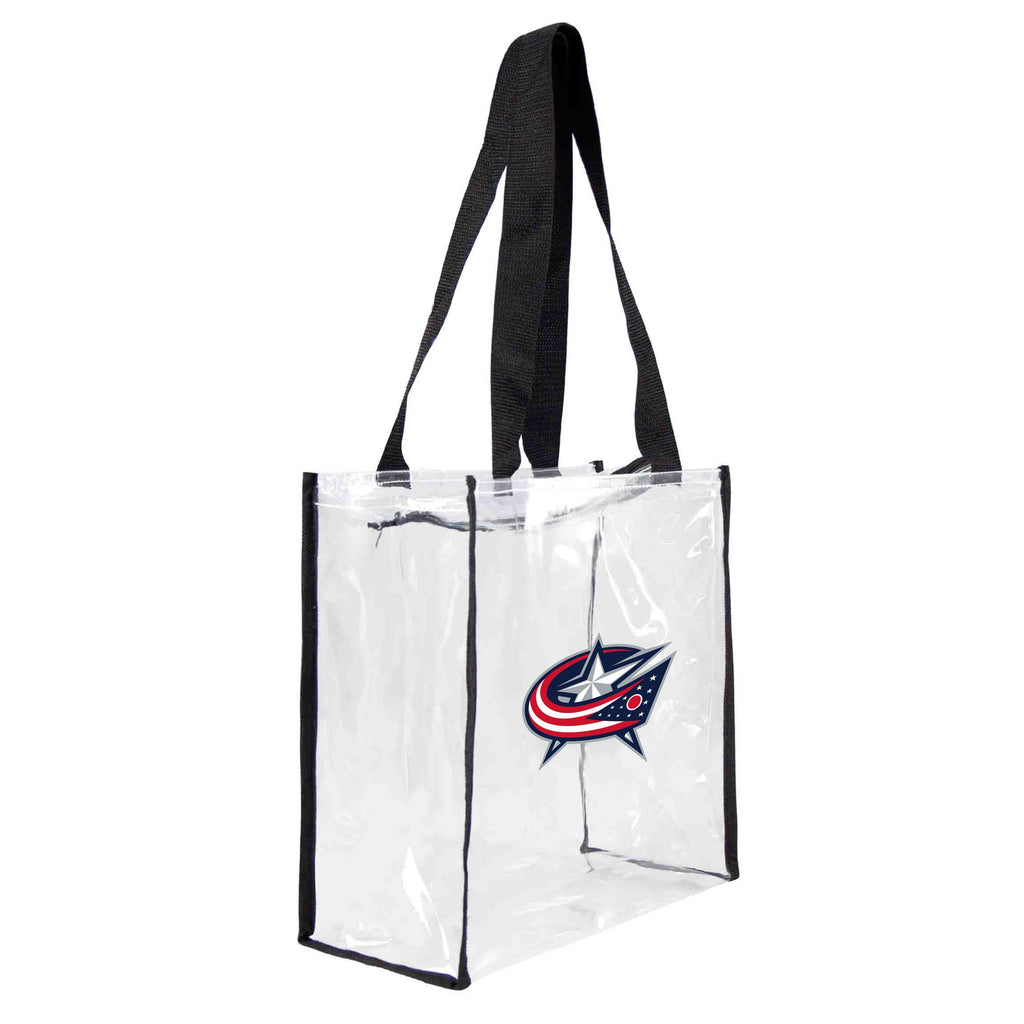 Columbus Blue Jackets Clear Square Stadium Tote