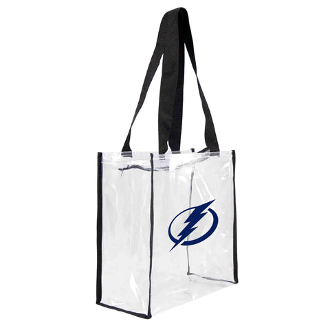 Tampa Bay Lightning Clear Square Stadium Tote