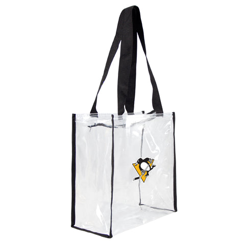 Pittsburgh Penguins Clear Square Stadium Tote