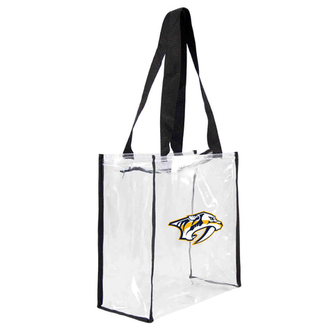 Nashville Predators Clear Square Stadium Tote