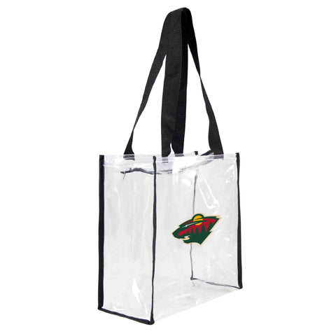 Minnesota Wild Clear Square Stadium Tote
