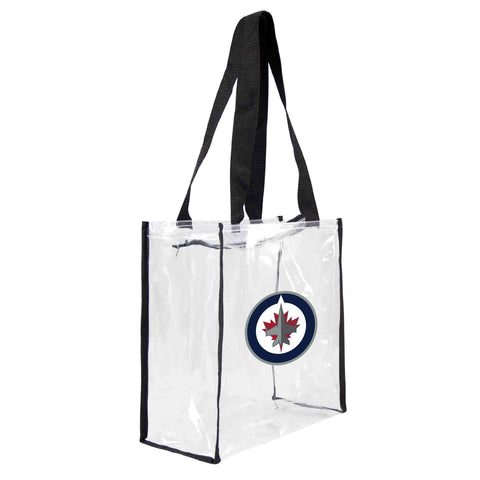 Winnipeg Jets Clear Square Stadium Tote