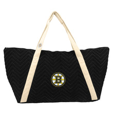Load image into Gallery viewer, Boston Bruins Chev Stitch Weekender