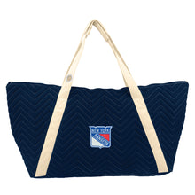 Load image into Gallery viewer, New York Rangers Chev Stitch Weekender