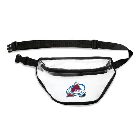 Colorado Avalanche Clear Fanny Pack