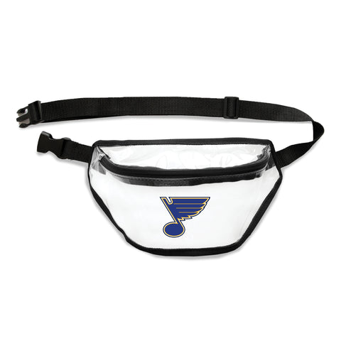 St. Louis Blues Clear Fanny Pack
