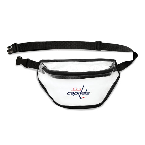 Washington Capitals Clear Fanny Pack