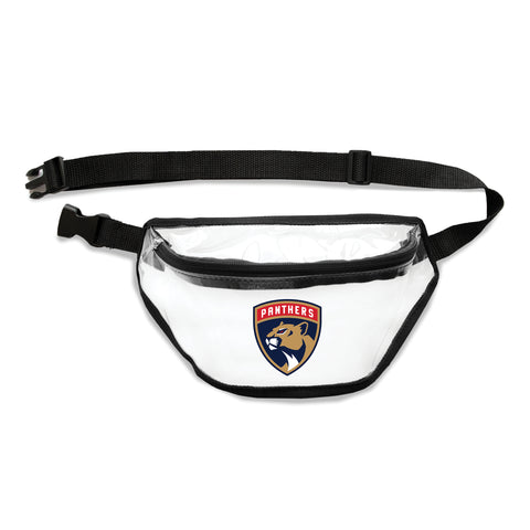 Florida Panthers Clear Fanny Pack
