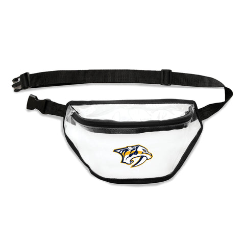 Nashville Predators Clear Fanny Pack