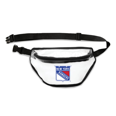 New York Rangers Clear Fanny Pack
