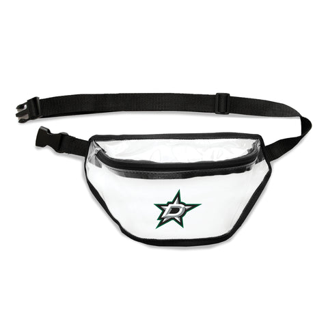 Dallas Stars Clear Fanny Pack