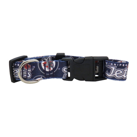 Winnipeg Jets Pet Team Collar
