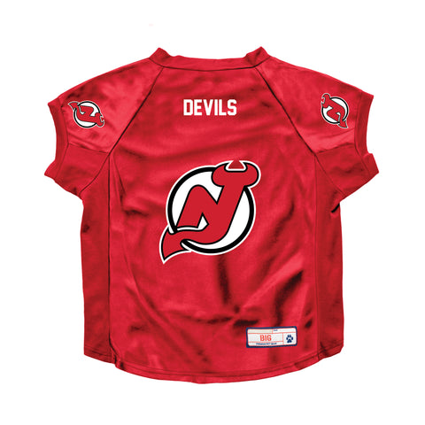 New Jersey Devils Big Pet Stretch Jersey