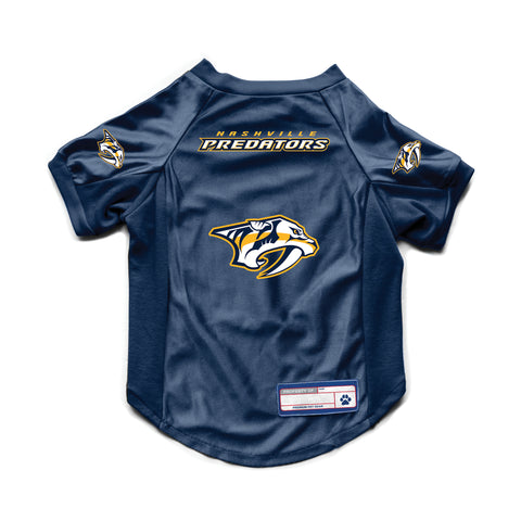 Nashville Predators Pet Stretch Jersey